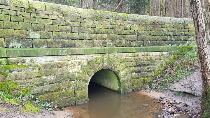 Yorkshire stone bridge