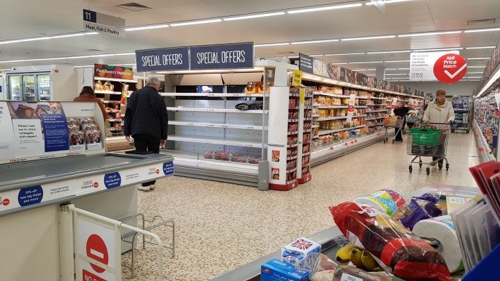 plenty of stock tesco