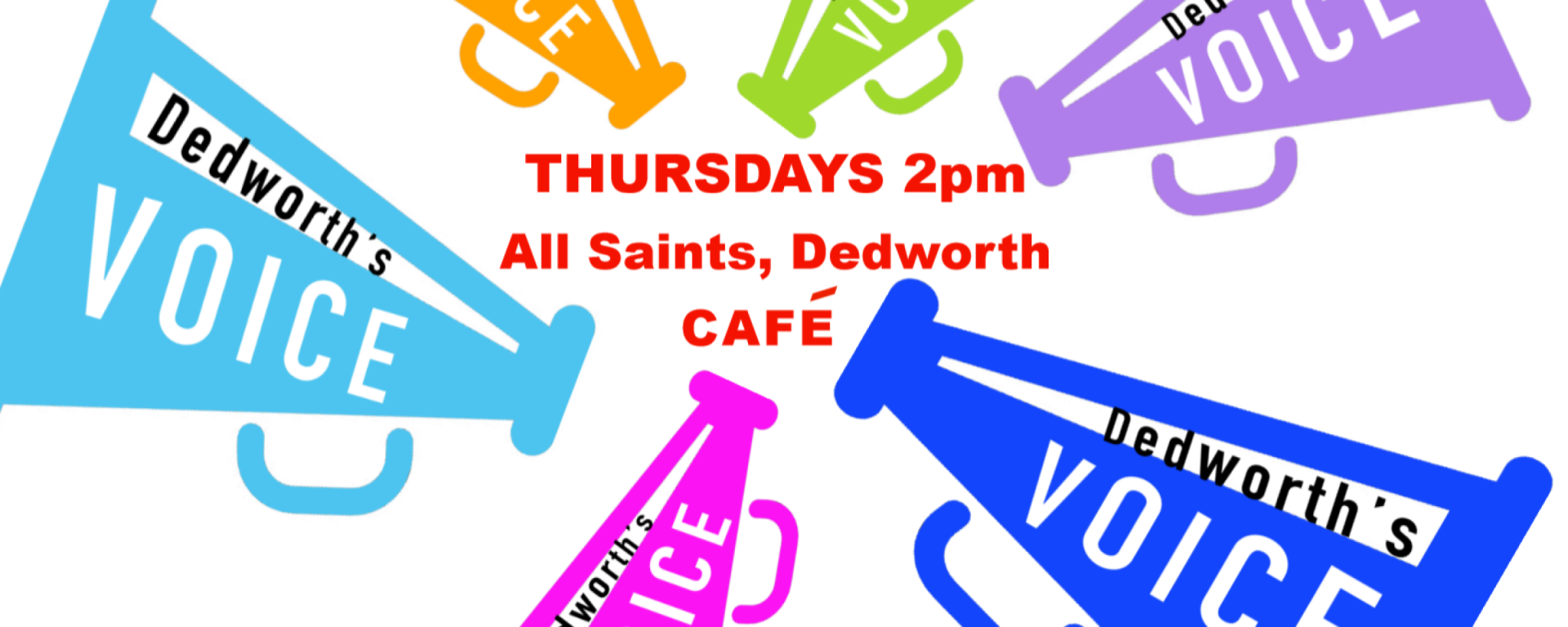 voice dedworth cafe 2pm all saints