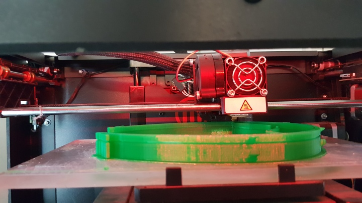 3D Printer at work