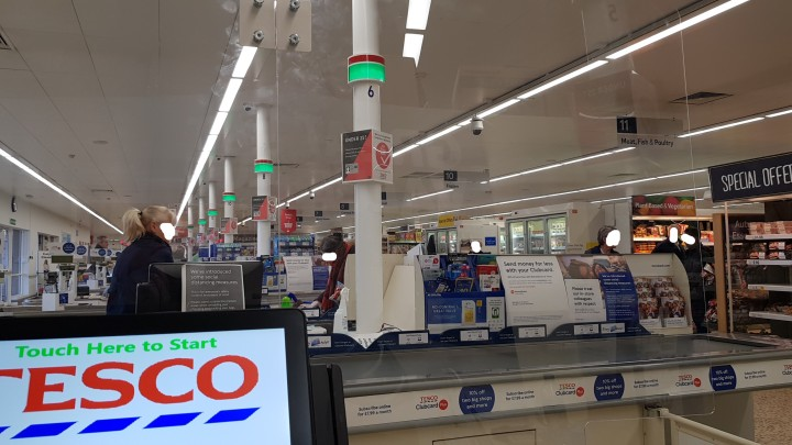 tesco screen faces removed