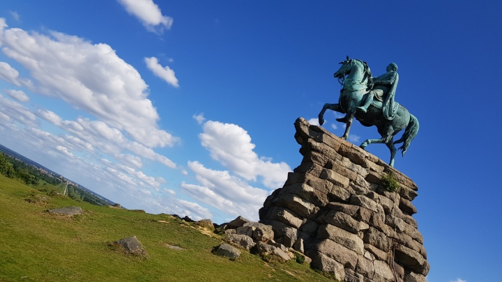 copper horse to windsor castle