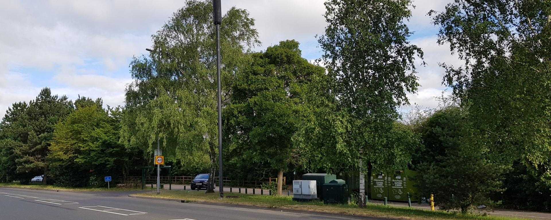 phone mast at sutherland grange