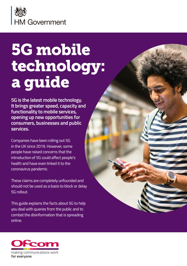 ofcom 5g mobile technology a guide