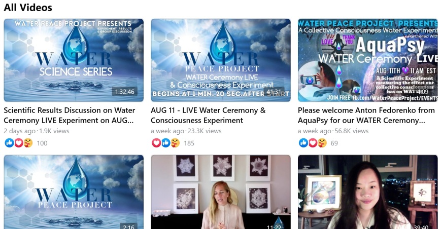 water peace project videos