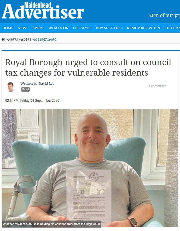 royal borough urged to consult on council tax changes