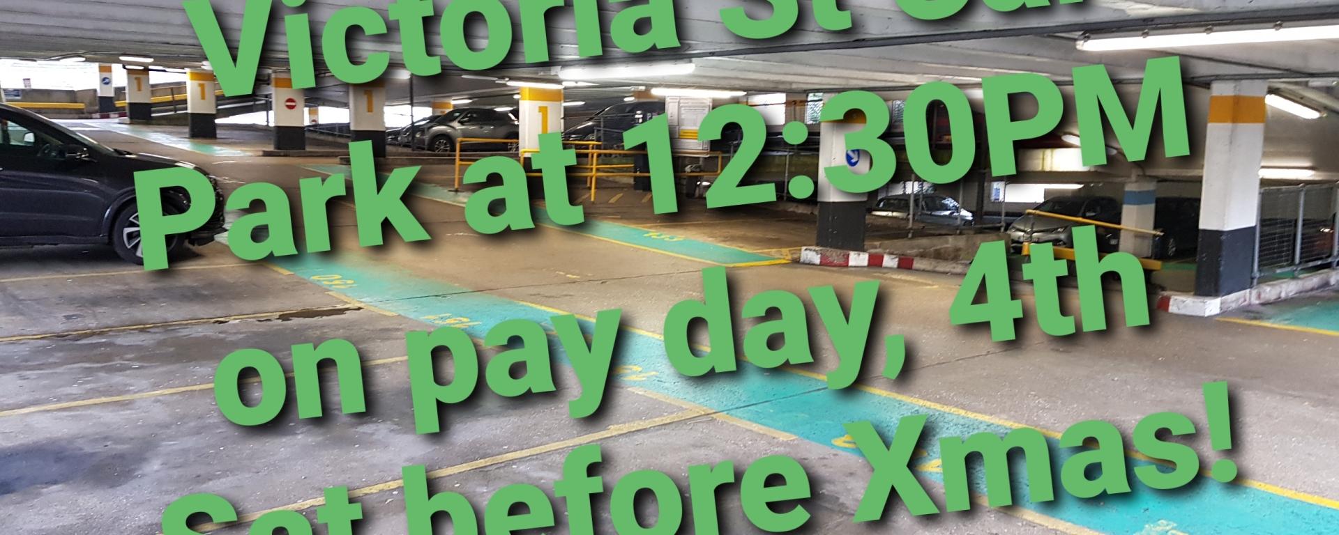 victoria car park xmas petition