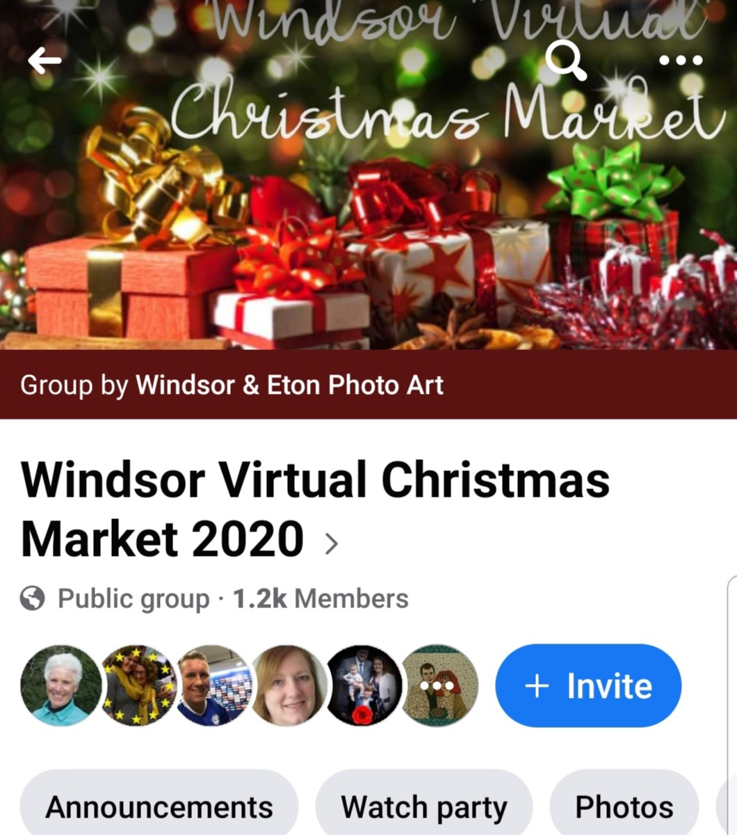 Virtual Christmas Windsor