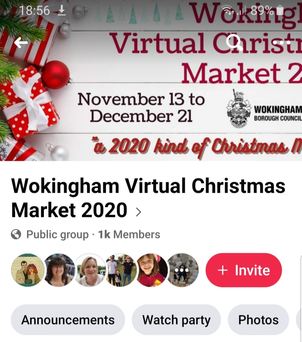 Virtual Christmas Wokingham