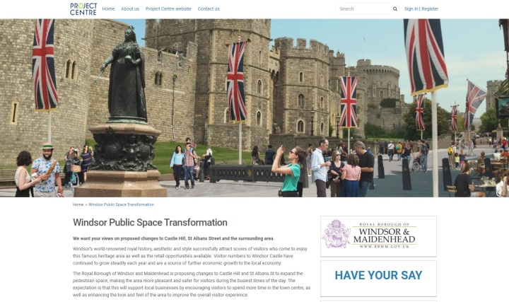 windsor public space have your say