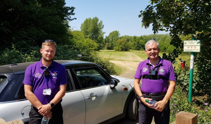 community wardens ben and clive