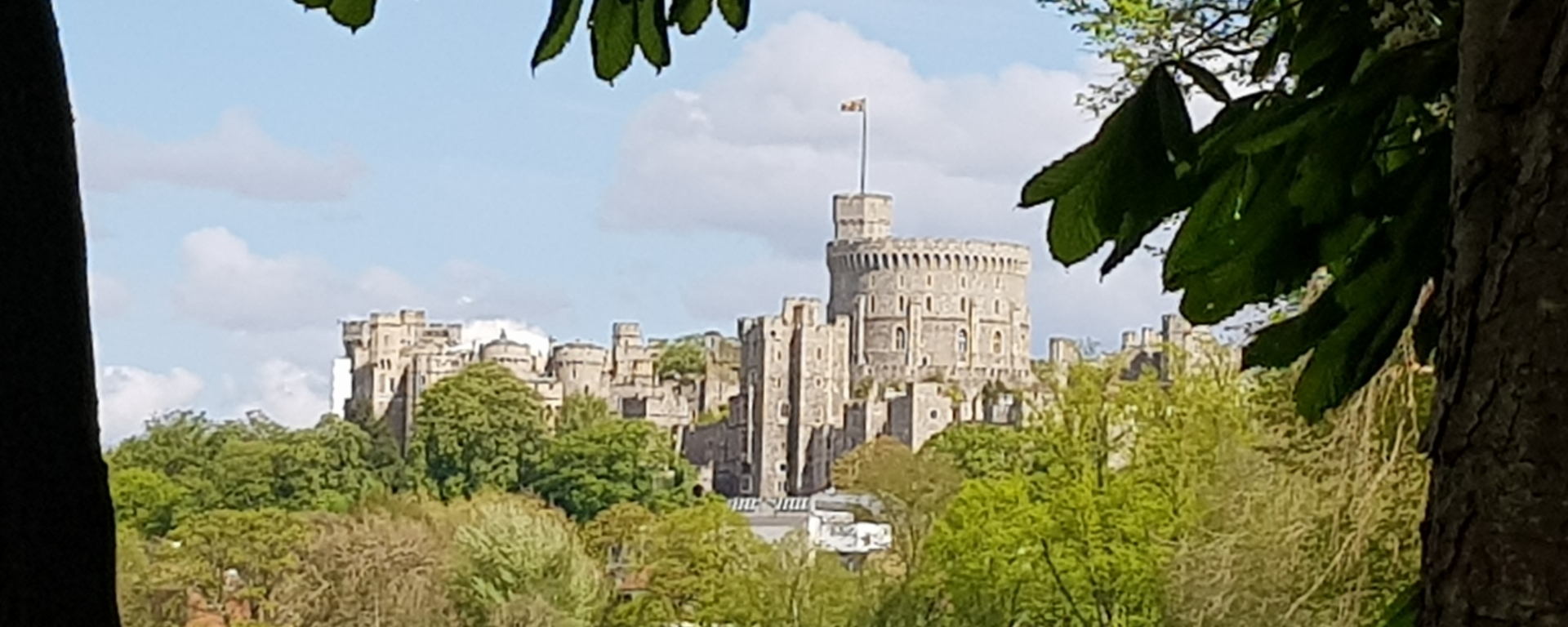 windsor castle from baths island