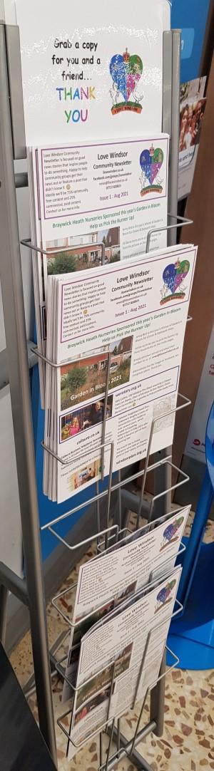 Love Windsor Community Newsletter Issue 1 38 copies left