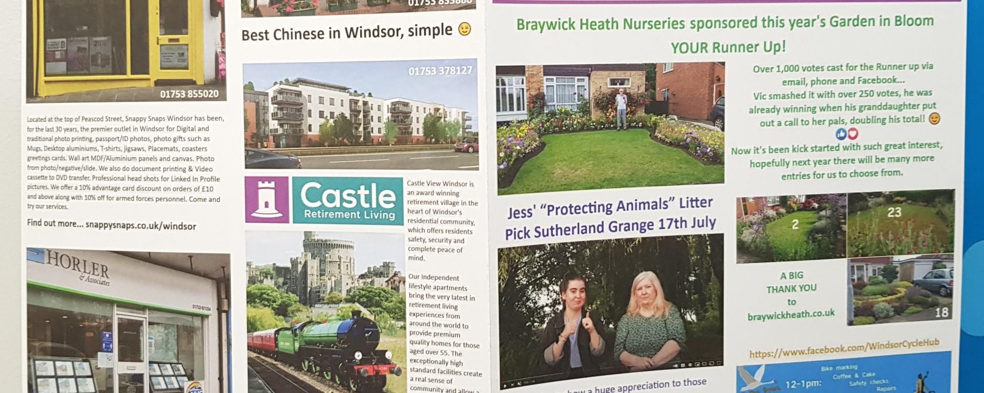 Love Windsor Community Newsletter Issue 2 Sept 2021